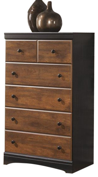 Aimwell Chest, Dark Brown.