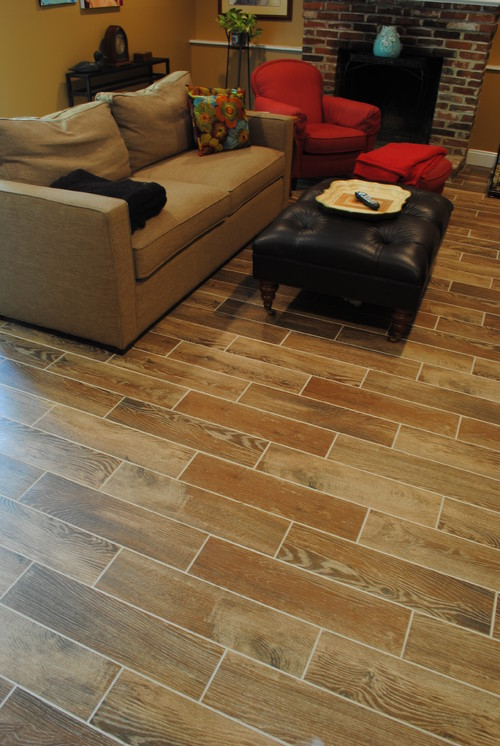 Brand And Style Of Wood Look Floor Tile