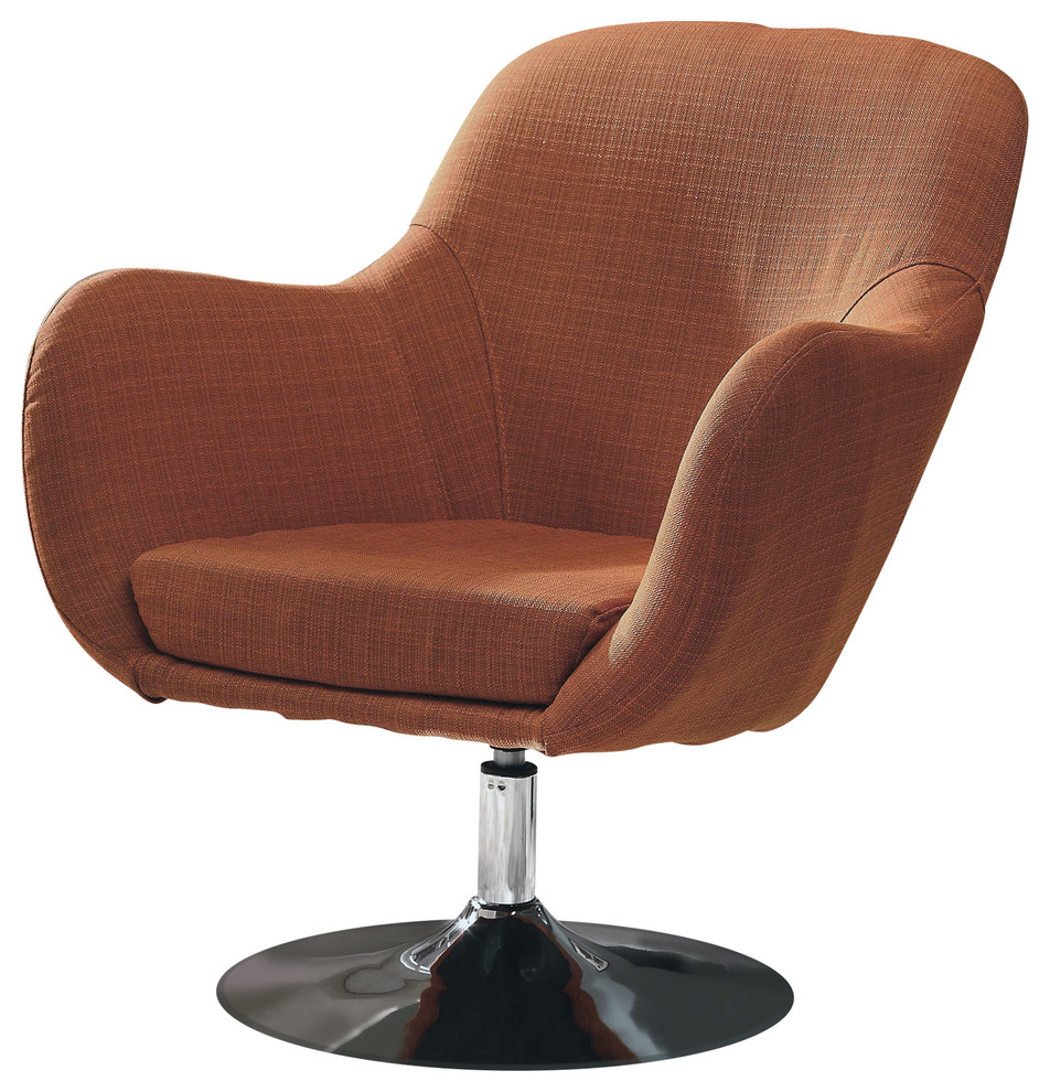 Marvelous Coaster Retro Swivel Chair Caraccident5 Cool Chair Designs And Ideas Caraccident5Info