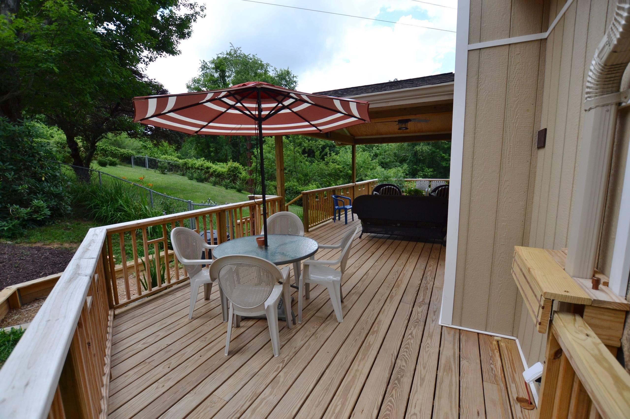 New Deck & Exterior