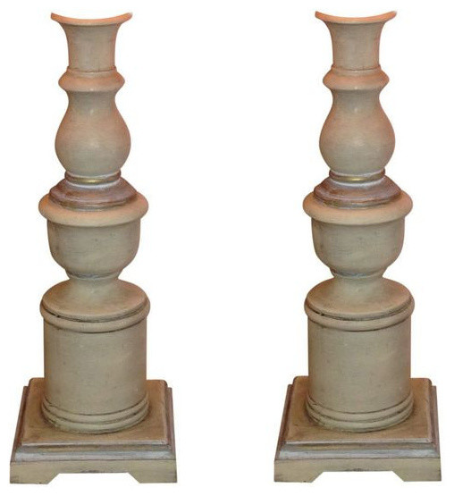 Pair Of Candlestick Lamps   $400 Est. Retail   $150 On Chairish