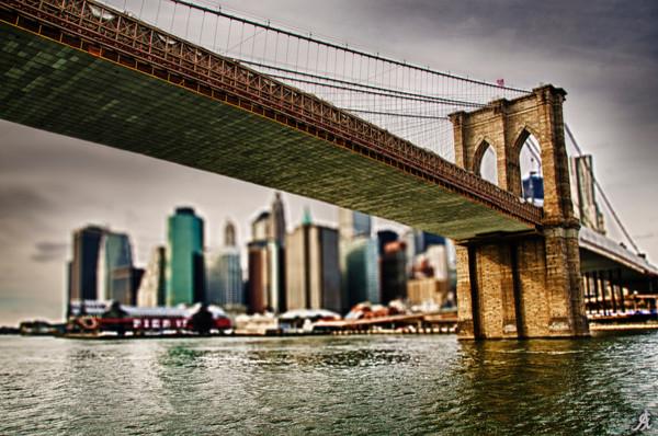 """The Bridge"" Art Print, Aluminum Dibond, Medium"