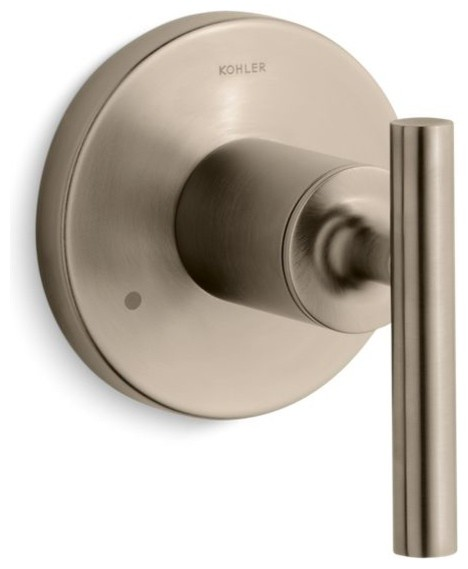 Kohler Purist Transfer Valve Trim With Lever Handle Valve Not Included Contemporary Tub And Shower Parts By The Stock Market