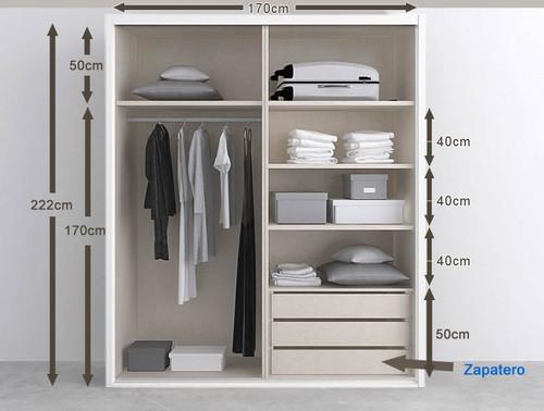 Ideas para vestir 3 armarios empotrados - Como vestir un armario ...