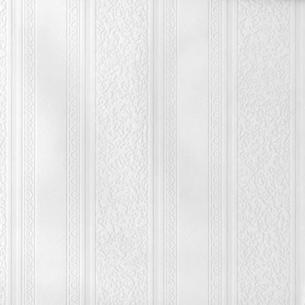Dorothy Textured Stripe Paintable Wallpaper Contemporary