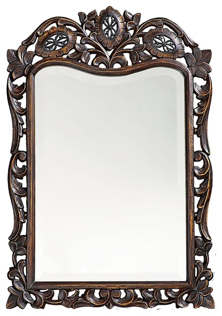 Howard Elliott St. Agustine French Brown Mirror.