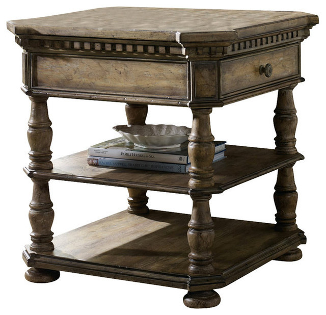 Marvelous Sorella End Table Traditional Side Tables And End Tables