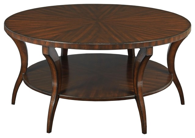 Cocktail table woodbridge gramercy traditional coffee tables by euroluxhome Traditional coffee table