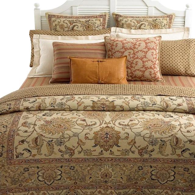 Ralph Lauren Northern Cape Queen Neutral Duvet Or Comforter Cover