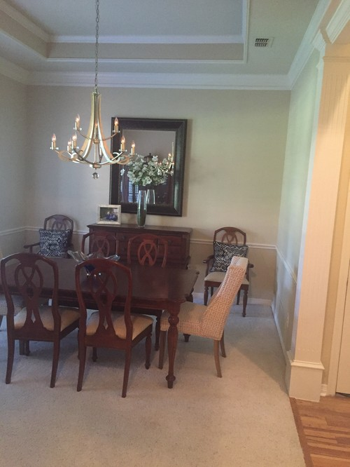 Keep Or Remove Chair Rail In Dining Room