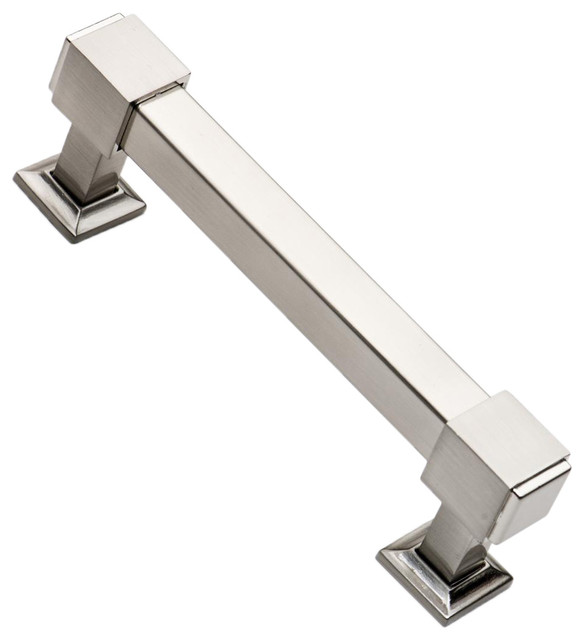Southern Hills Satin Nickel Cabinet Pulls 4 3 4 Inch