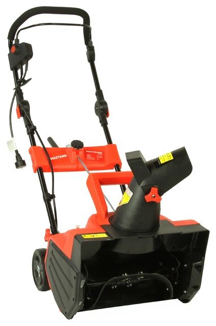 Shop Houzz | iLIVING USA Maztang MT-988 18-Inch 13-Amp Electric Snow Blower - Outdoor Power ...