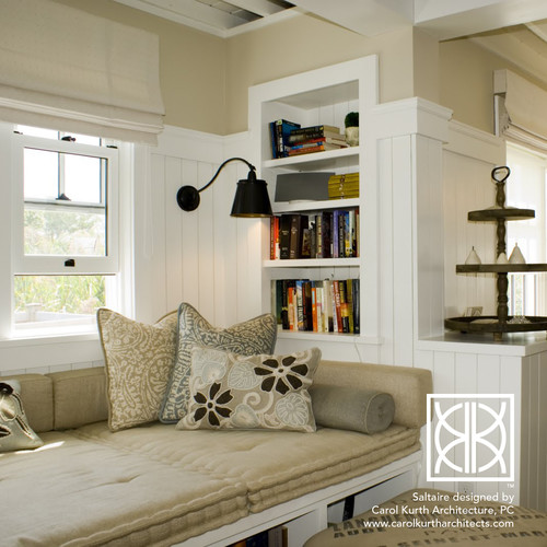 Why Not Try A Bookshelf Bench Or Inset Bookshelves And Who Doesnt Love More Storage