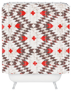 Holli Zollinger Native Rustic Shower Curtain