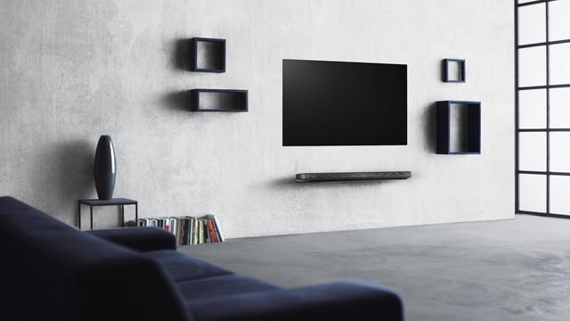 Hur högt ska en TV sitta på väggen?
