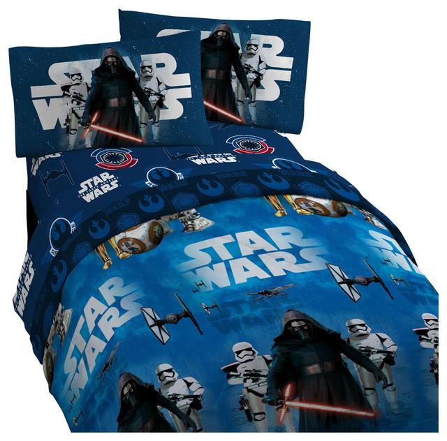 Star Wars 7 Twin Bedding Set Force Awakens Comforter