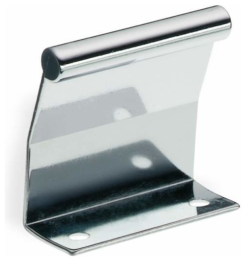 Schwinn Hardware Tab Pull, 2 Inch Polished Chrome - Contemporary - Cabinet And Drawer Handle ...