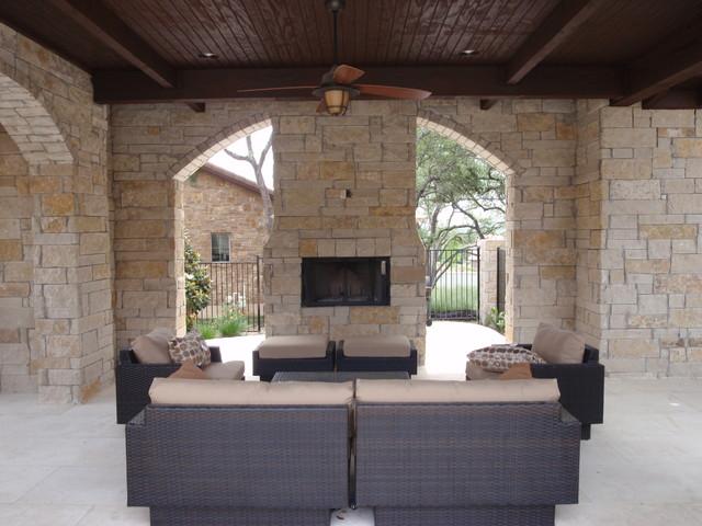Lueders Limestone Modern Austin By Cobra Stone Inc