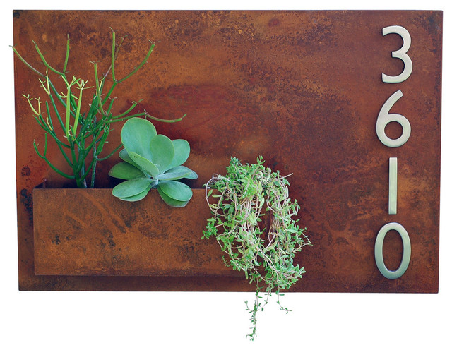 a2ab95f6626 50 Most Popular Rustic Address Plaques for 2019