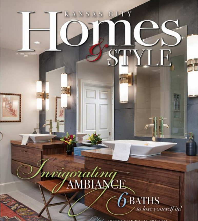 Kansas City Homes and Style Magazine Feature Oct. 2016