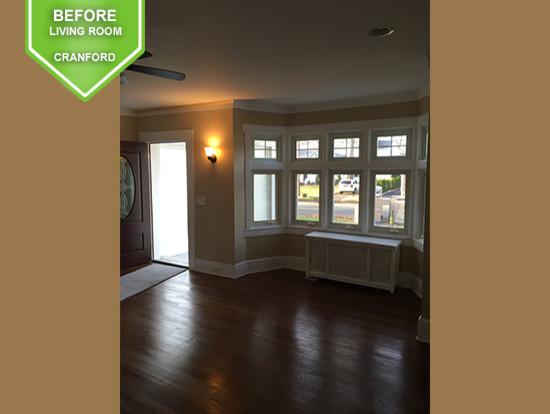 Cranford Before Living Room