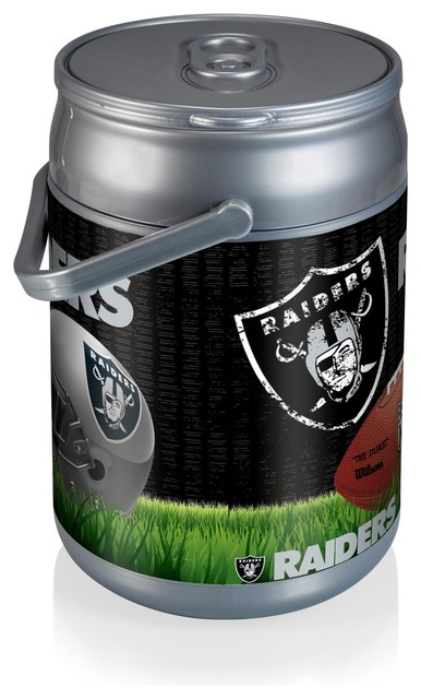 Oakland Raiders Can Cooler Football Design Contemporary
