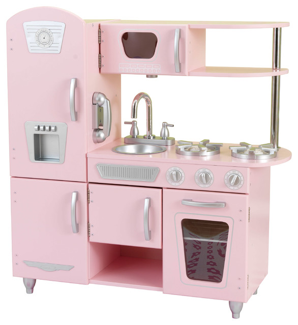 Charming Pink Vintage Kitchen Contemporary Kids Toys And Games