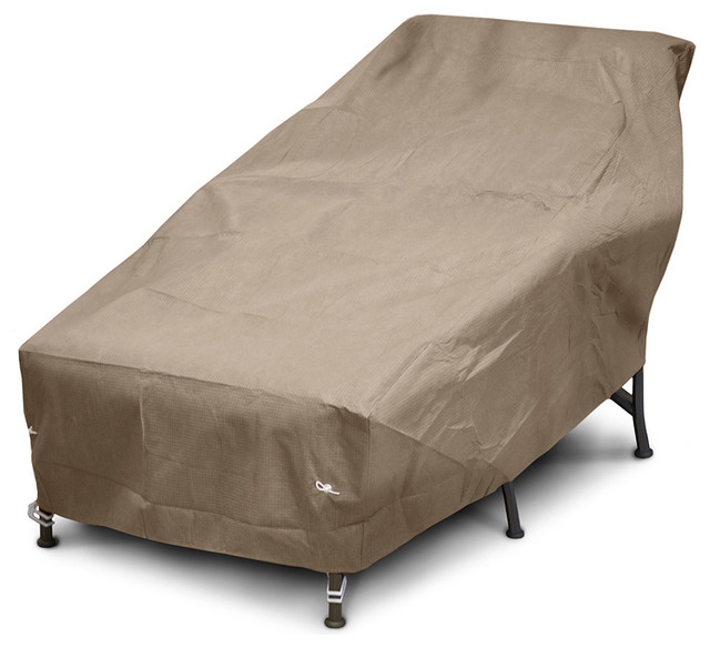 Chaise cover contemporary outdoor furniture covers for Chaise covers outdoor furniture
