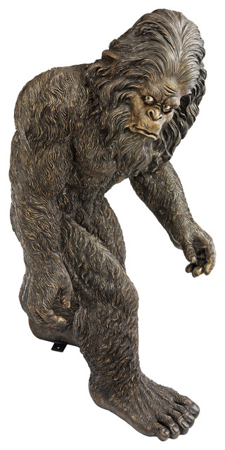Attractive Life Size Bigfoot The Garden Yeti Statue Eclectic Garden Statues And Yard