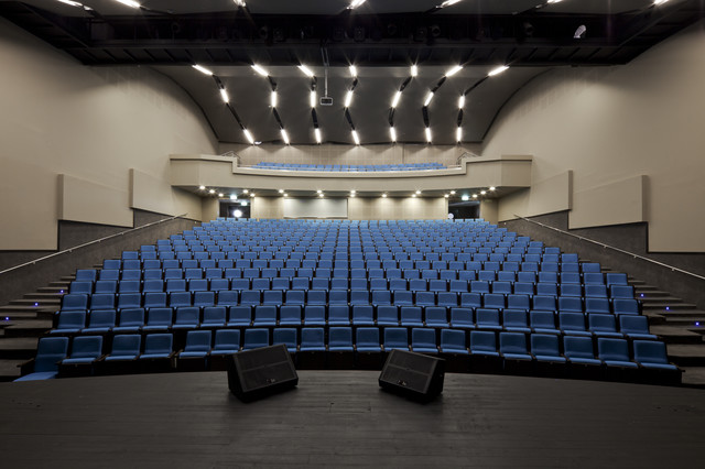 Yad Binyamin Auditorium Modern Tel Aviv By Aviad Bar