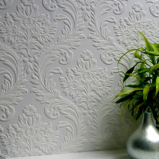 Anaglypta High Trad Paintable Textured Vinyl Wallpaper