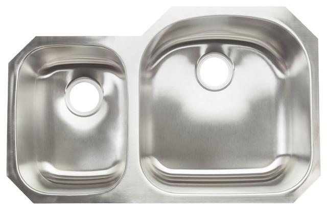 Most popular pegasus double bowl kitchen sink houzz for 2018 houzz hahn hahn chef series 30 70 double bowl sink kitchen sinks workwithnaturefo