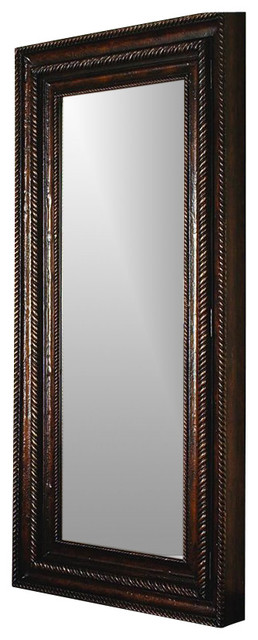 Hooker Furniture Floor Mirror With Hidden Jewelry Storage 500-50-656.