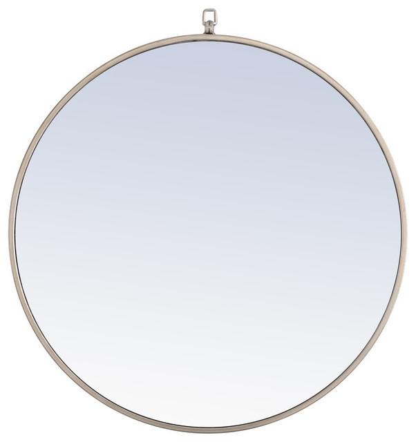 Elegant Decor Mr4056s Eternity Mirror Silver