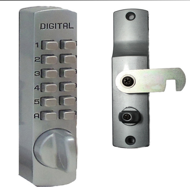 Digital Door Lock Mechanical Keyless Cabinet Surface Mount Cam Lock - Contemporary - Door Locks ...