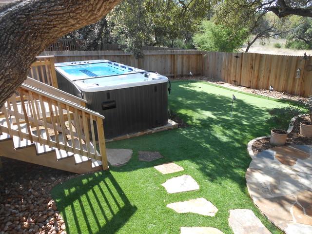 Agp Company Swim Spa 18 39 Traditional Austin By The Above Ground Pool Spa Company