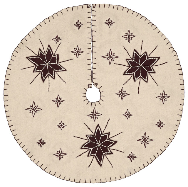 Shop houzz vhc brands inc north star mini tree skirt