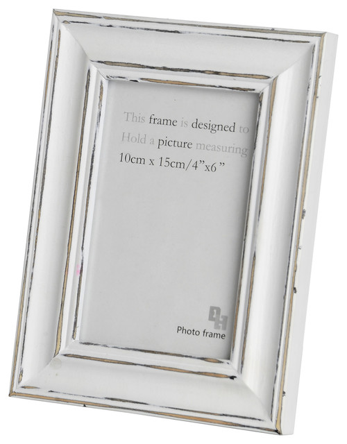 Photo Frame, Antique White - Country - Picture Frames - by Baytree ...