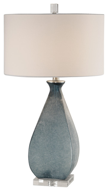 Uttermost Atlantica Ocean Blue Lamp