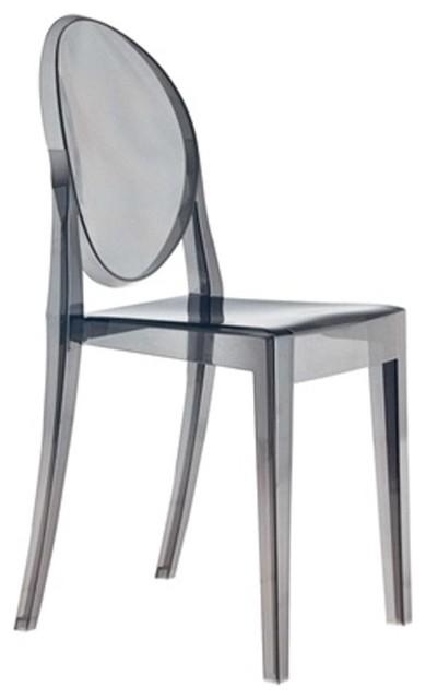 Fine Mod Imports Smoke Side Chair, Smoke by Fine Mod Imports