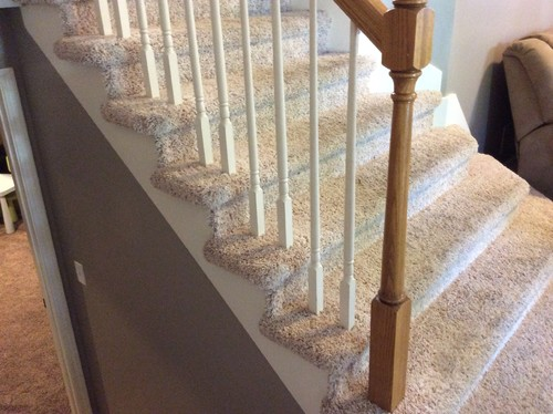 Replacing Balusters Without Removing Carpet?