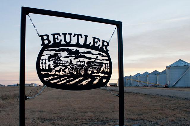 Custom Laser Cut Metal Farm Amp Ranch Signs Farmhouse