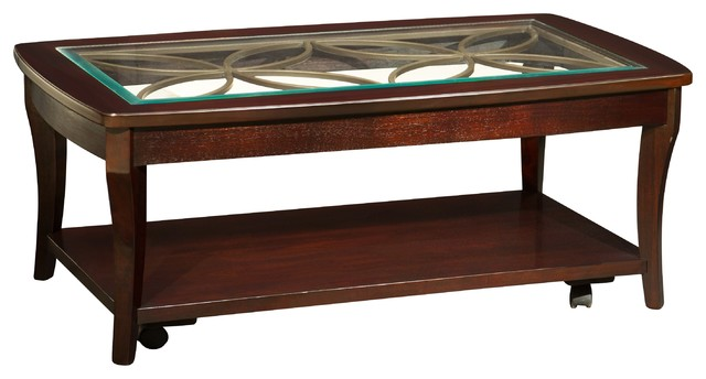 Annandale Glass Coffee Table Coffee Tables