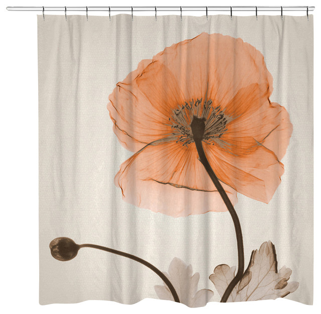 Poppy Harvest Shower Curtain