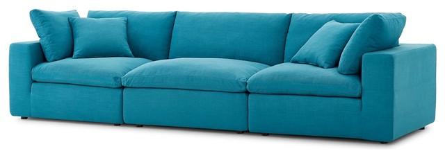 Tremendous Modern Contemporary Urban Living Sofa Set Aqua Blue Inzonedesignstudio Interior Chair Design Inzonedesignstudiocom