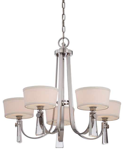 Quoizel Upby5005is Uptown Bowery Chandeliers