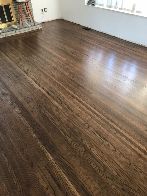 2 Different Types Of Flooring In Open Concept