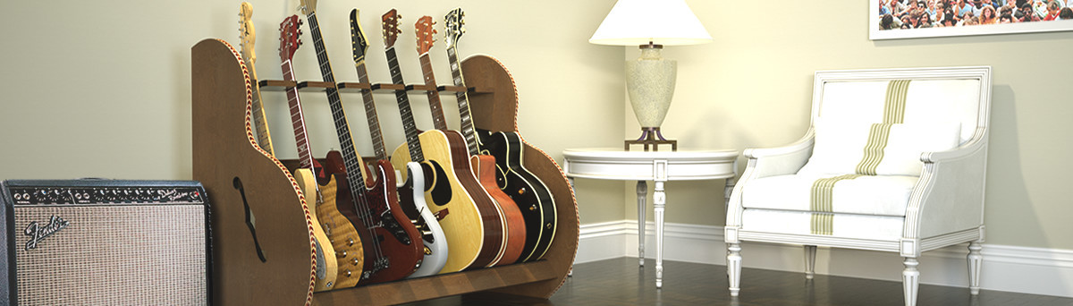 Guitar Storage | Houzz