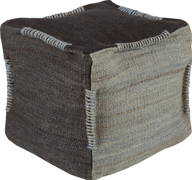 Continental Pouf - Farmhouse - Floor Pillows And Poufs - by HedgeApple