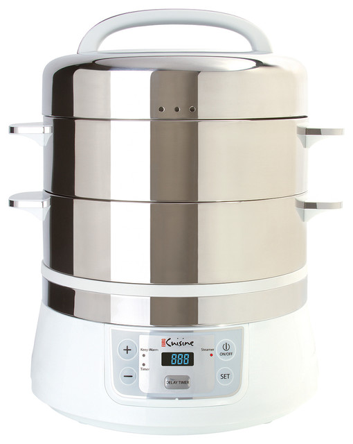 Electric Rice Steamer ~ Shop houzz euro cuisine stainless steel